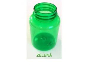 plast.lahvička 100ml s uzávěremzelená