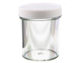 lahvička 100ml rovná průhledná