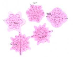 razítka mandala růžová