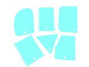 plastová stěrka modrá