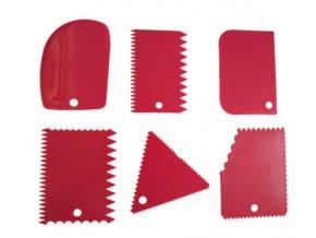 plastová stěrka červená
