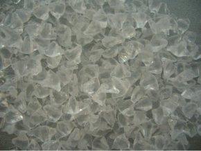 skleněná drť č.1 - transparentní (průhledná)