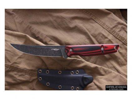 Scar red G10 black s/w