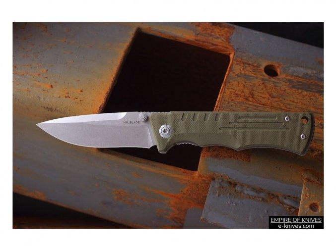 Mr.Blade Split Oliva 01