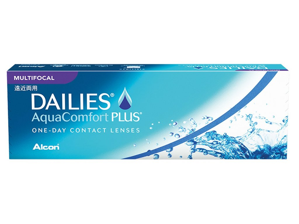 Alcon Dailies AquaComfort Plus Multifocal (30 čoček)