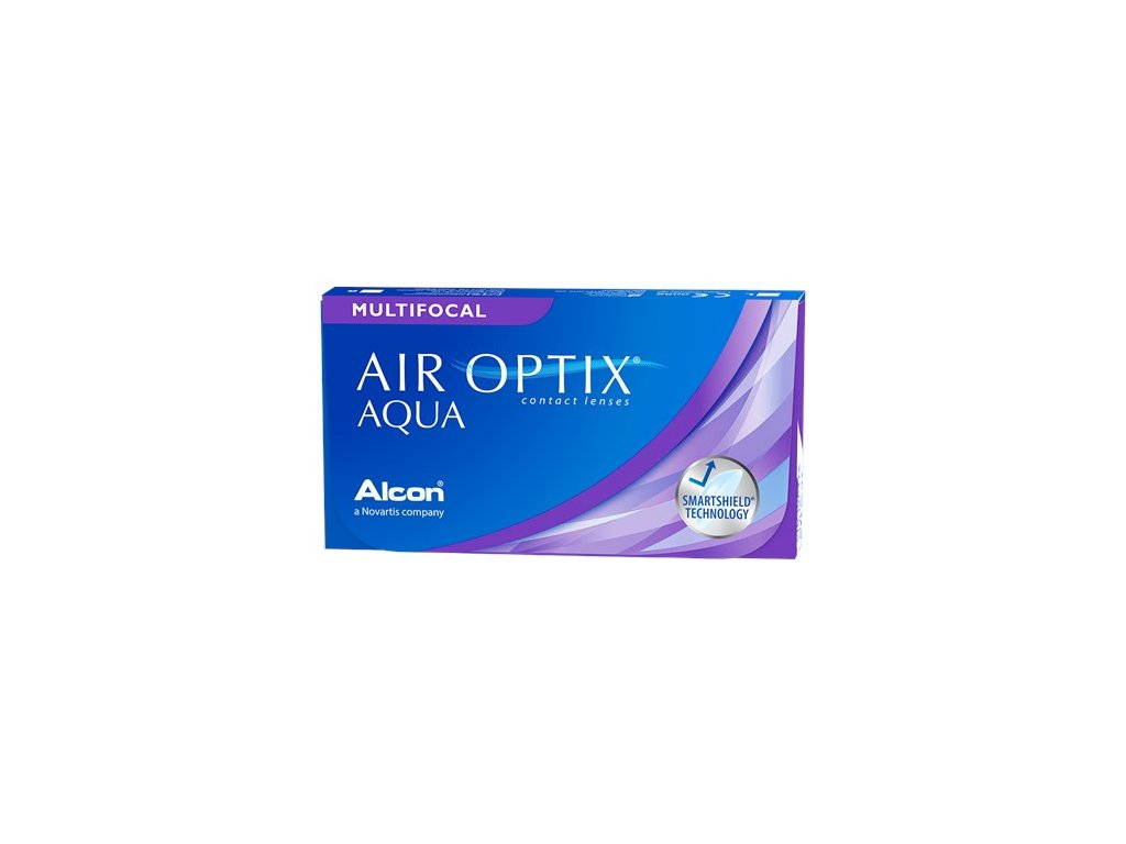 Alcon Air Optix Aqua Multifocal (6 čoček)
