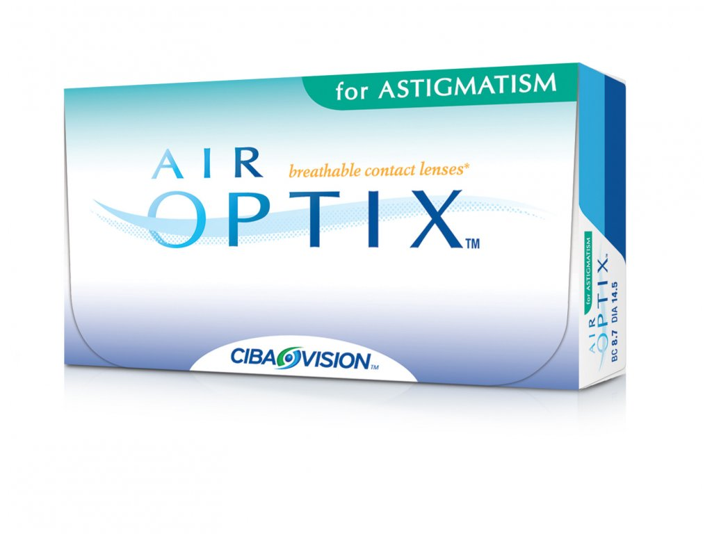 Alcon Air Optix for Astigmatism (3 čočky)