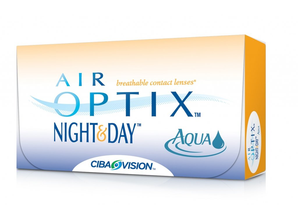 Alcon Air Optix Night & Day Aqua (6 čoček)