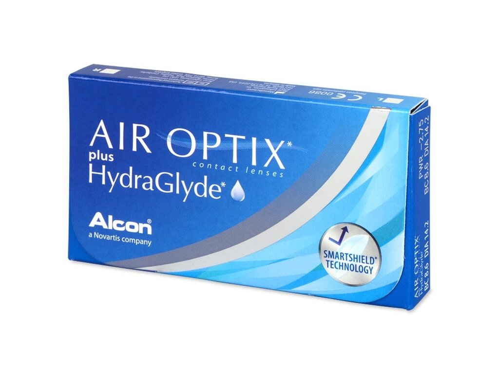 Alcon Air Optix Plus Hydraglyde (6 čoček)