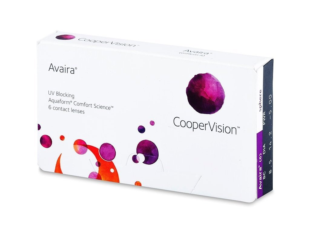 Cooper Vision Avaira (6 čoček)