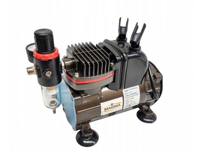 Zestaw kompresor TC 812K stojakiem aerograf TG 130 EAN 5903246824018