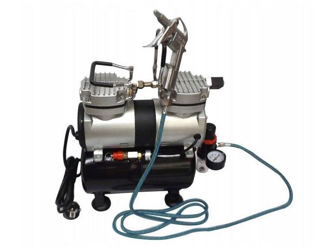 Mocny Kompresor z butla 6 bar TC 30T Waga produktu z opakowaniem jednostkowym 6 kg