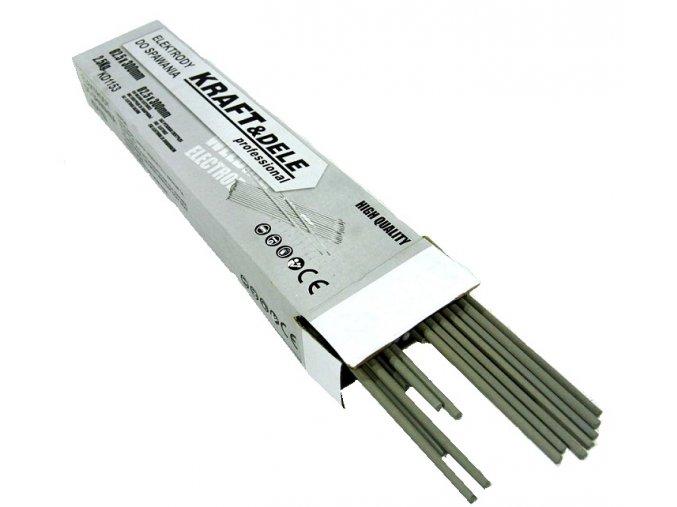 Kraft Svařovací elektrody 2,5mm x 300mm 2,5kg KD1153