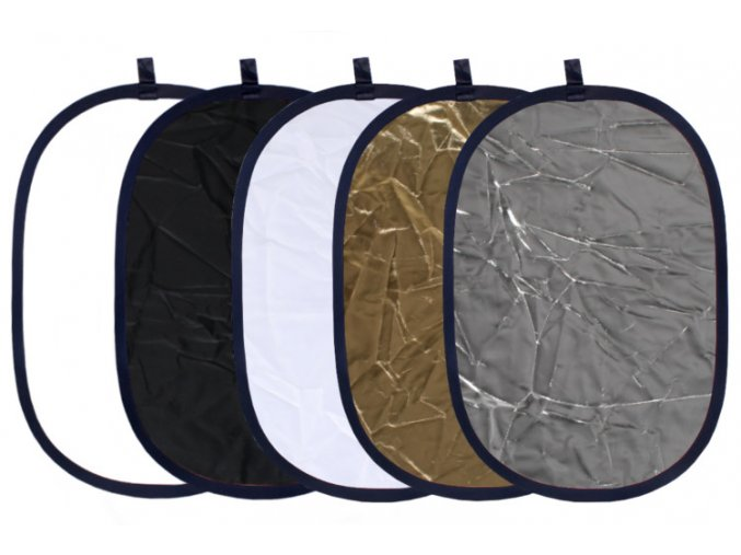 Blenda 5w1 92x122 zlota srebrna biala czarna