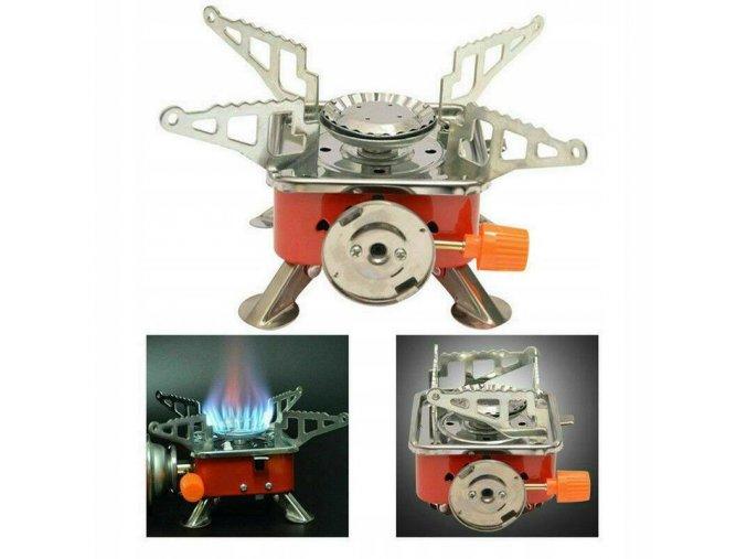 Azari Turistický plynový vařič Kempingový