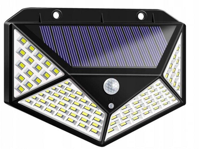 Azari Venkovní solarní LED světlo s detekcí pohybu 100 LED