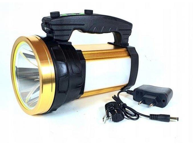 Azari Dobíjecí LED XM-L T6 USB Svítilna