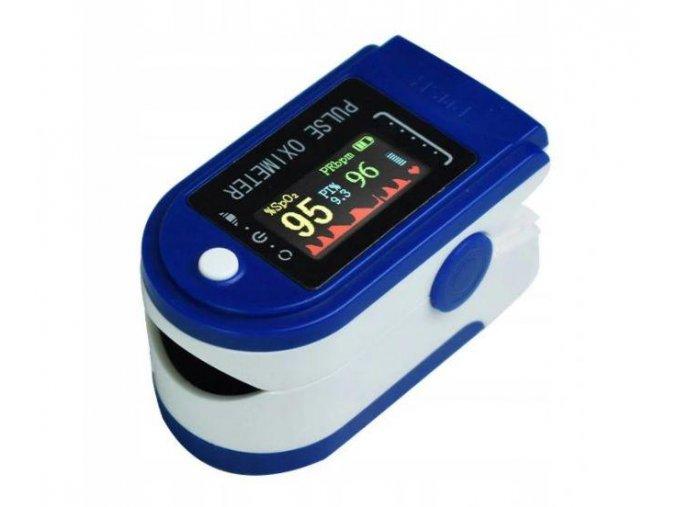 Azari Prstový pulzní oxymetr LCD