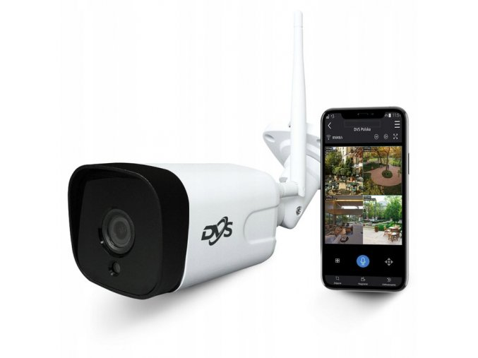 Zewnetrzna kamera DVS IP WiFi Full HD 2Mpx 1080p