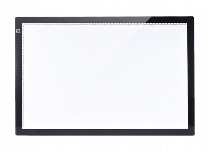 Podswietlana deska kreslarska A4 LED kalka