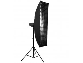 SOFTBOX STUDYJNY GRID 35x140cm BOWENS STRIP Model SOFTBOX35X140GRID