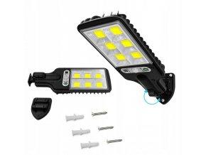 Solární lampa světlo s čidlem 20W COB 73