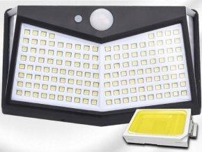 Azari Venkovní solarní LED světlo s detekcí pohybu 212 LED