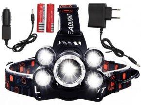 Azari Čelovka 5 X LED