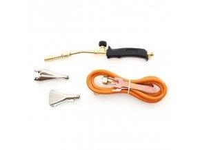 Plynový opalovací hořák + 3 koncovky, lutování rozmrazovaní KD10301