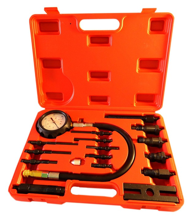 Tester Komprese Kompresiometr pro zážehové motory DIESEL