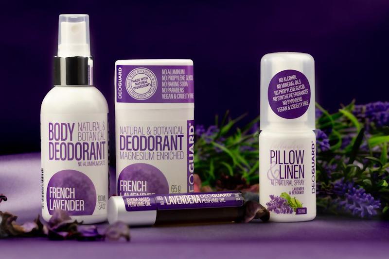 Přírodní deodoranty