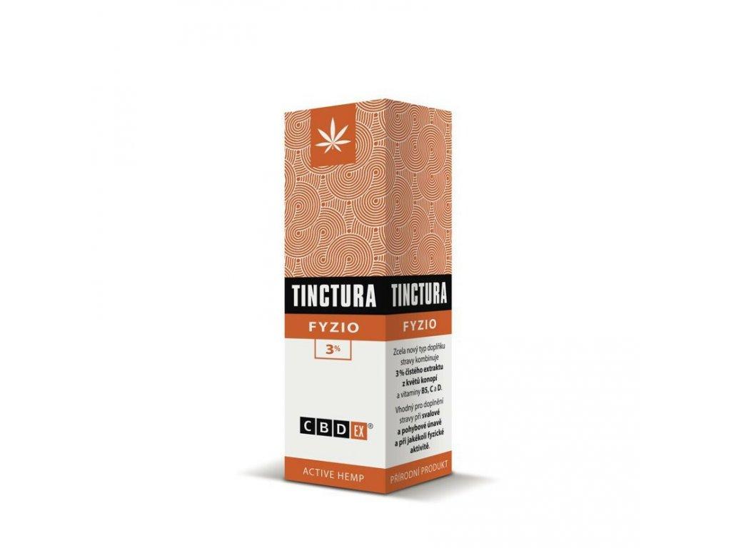 Canatura Cannabis Pharma CBDex Tinctura Fyzio 3 10ml