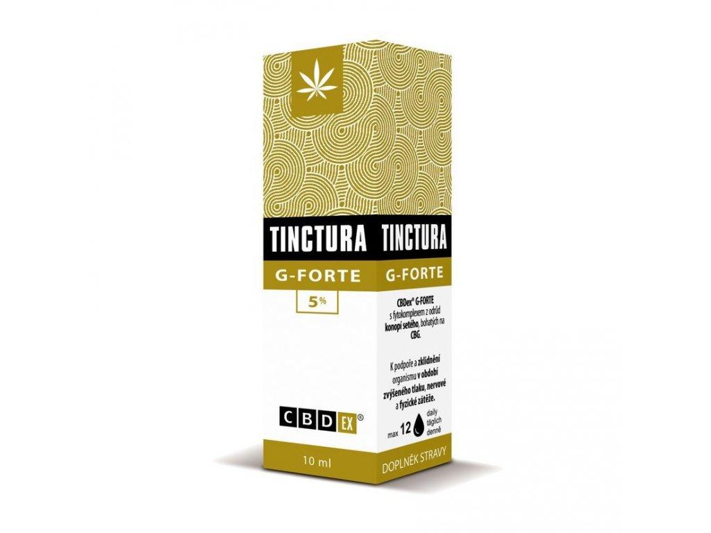 Tinctura krabička g forte10 ml 3D