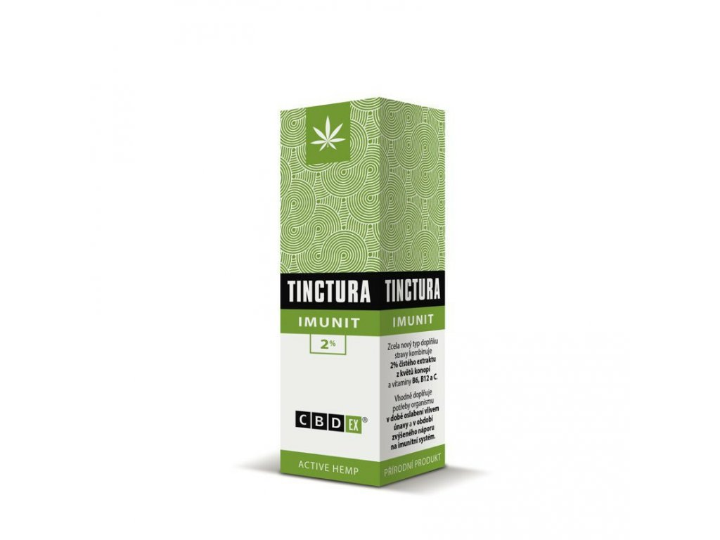 Canatura Cannabis Pharma CBDex Tinctura Imunit 2 10ml