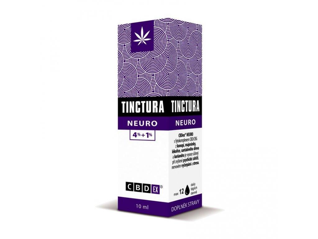 Tinctura krabička neuro10 ml 3D