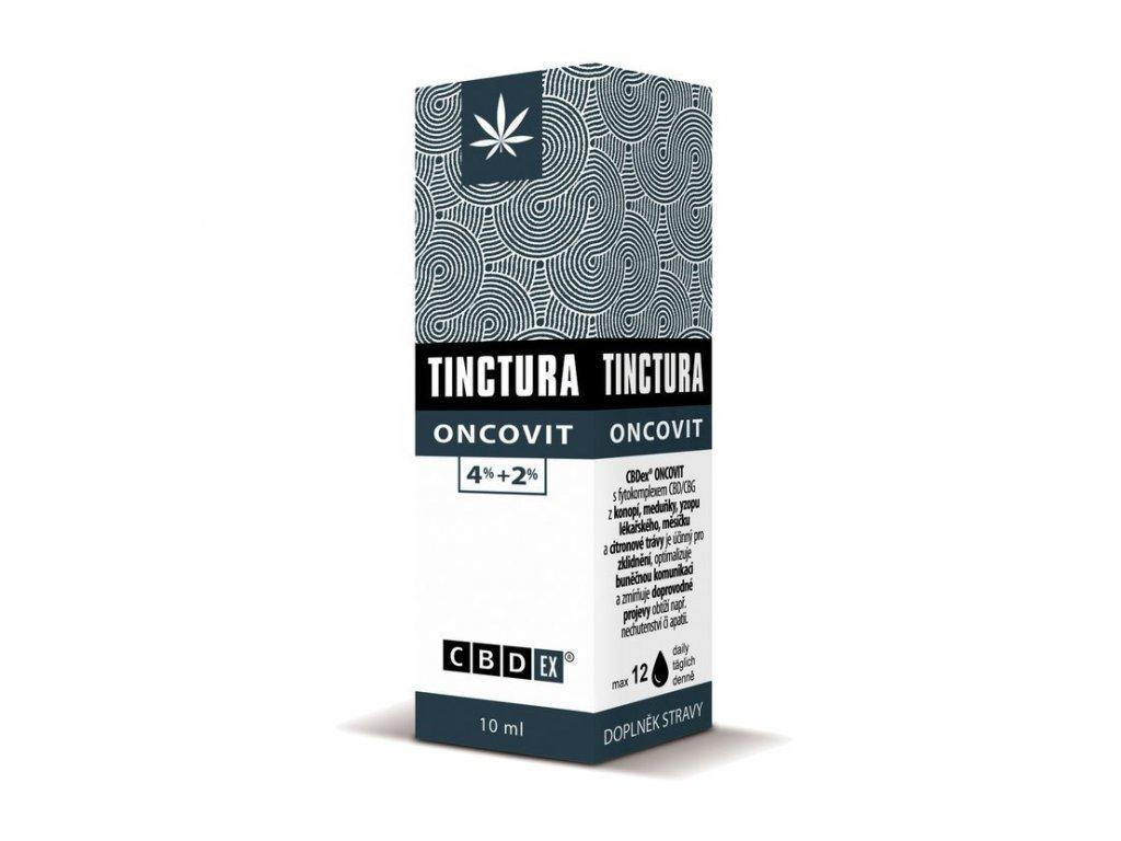 Tinctura krabička oncovit10 ml 3D