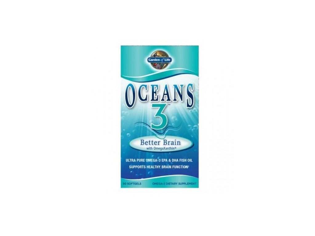 Oceans 3 Better Brain Omega 3 Podpora cinnosti mozku 500x600