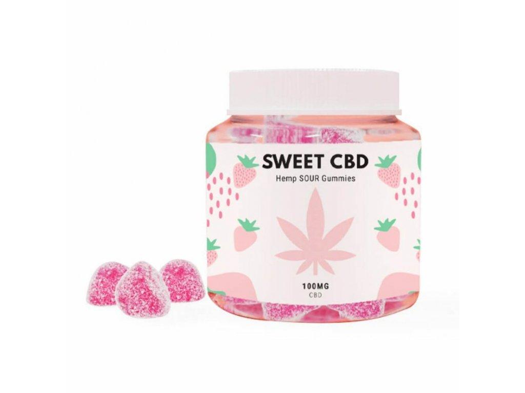 Sweet cbd gummies strawberry canatura