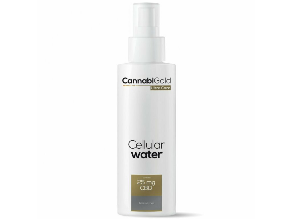 Cannabigold CBD cosmetics kosmetika canatura ultracare 150ml allskin water 2020 2