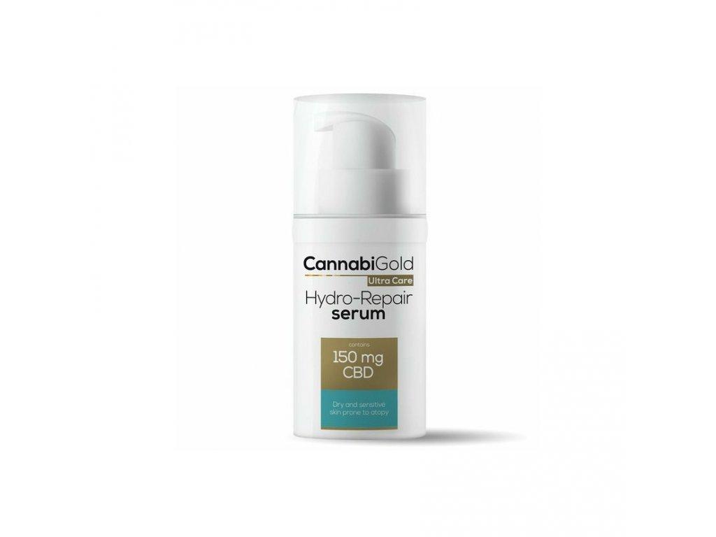 Cannabigold CBD cosmetics kosmetika canatura ultracare 30ml dry serum render 2020 2