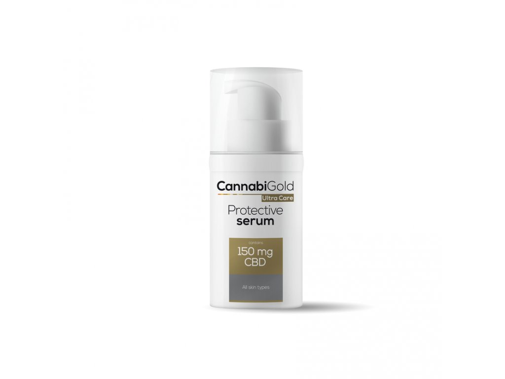 Cannabigold CBD cosmetics kosmetika canatura ultracare 30ml allskin serum render 2020 2
