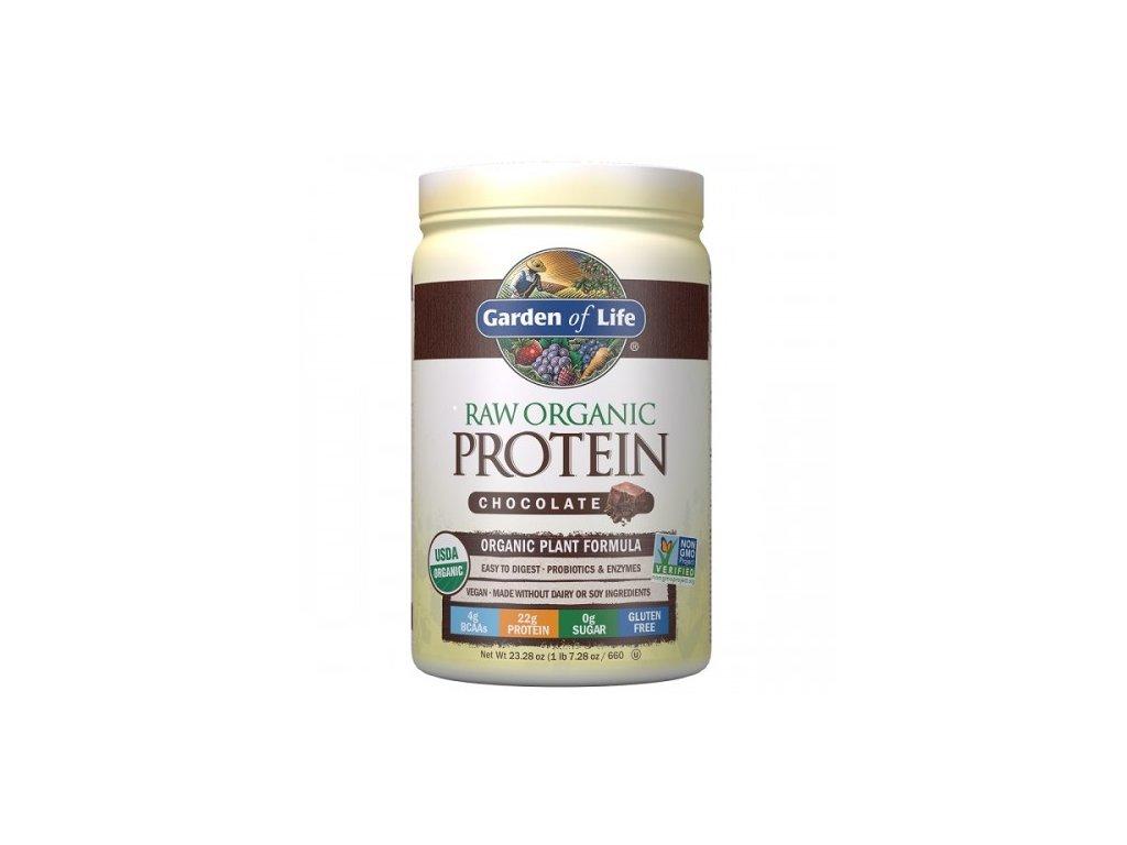 RAW Organic Protein 660g. 500x600