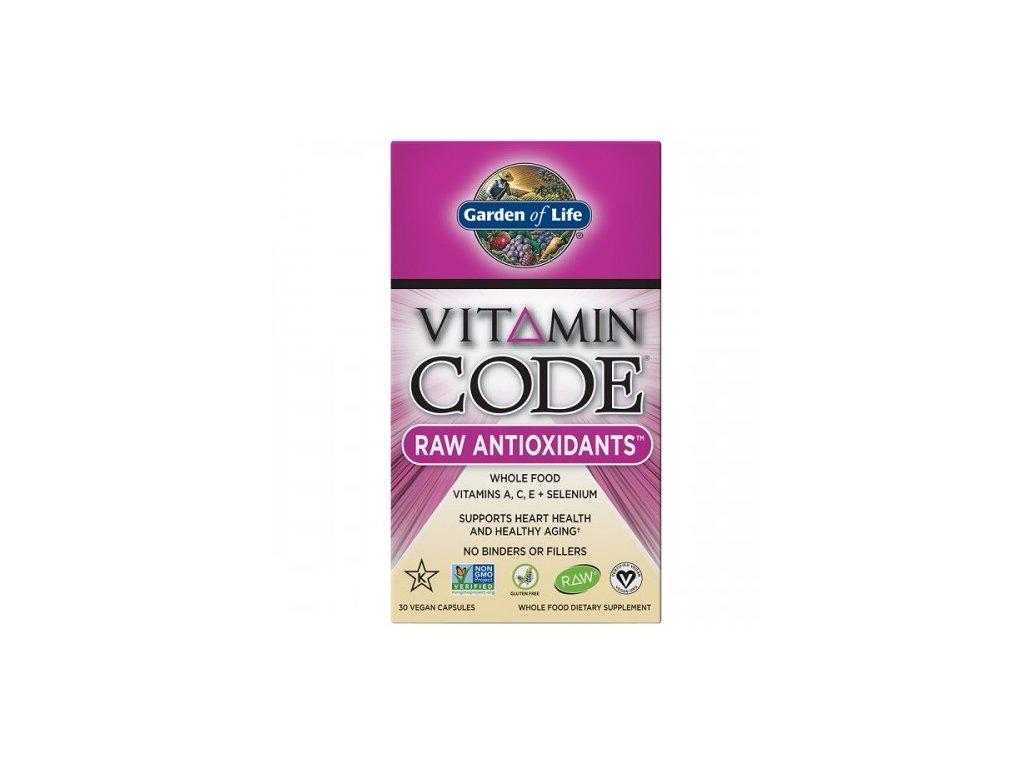 Vitamin Code Raw Antioxidants 30kapsli 500x600