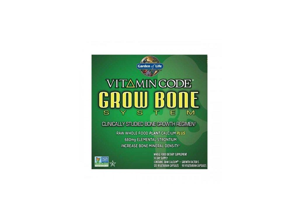 Vitamin Code Grow Bone System pro rust kosti 500x600