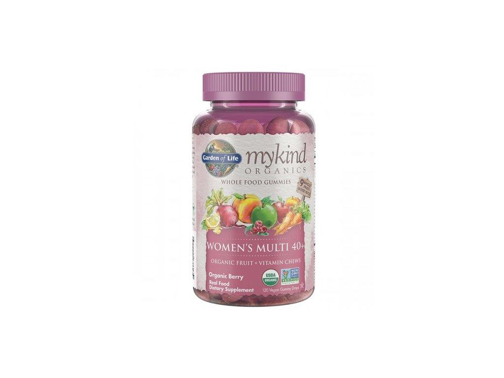 Mykind Organics Multi Gummies Pro Zeny 40 z organickeho ovoce 500x600