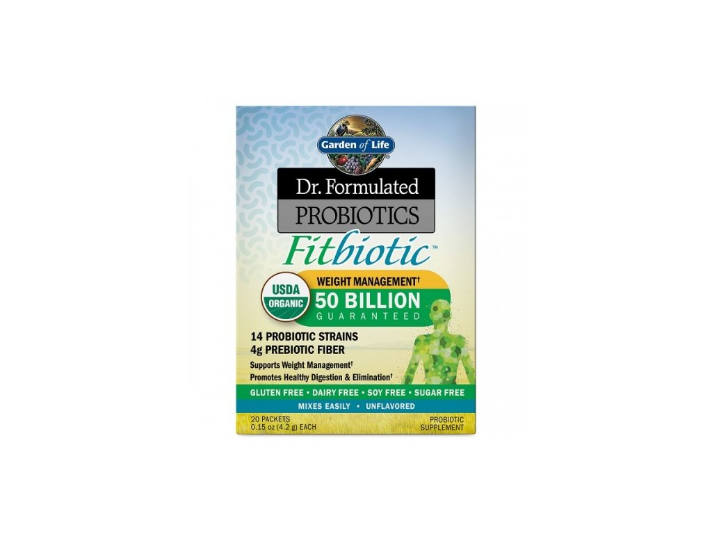 Dr. Formulated Probiotika fitbioticky prasek 500x600