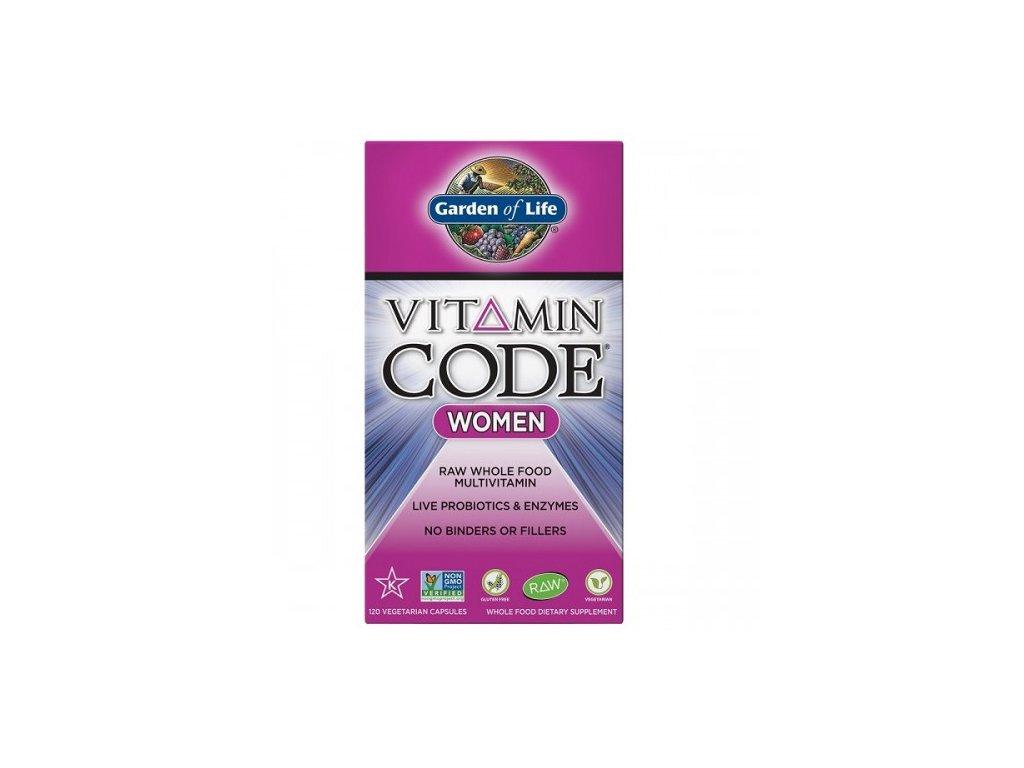 Vitamin Code RAW multivitami pro ženy 500x600