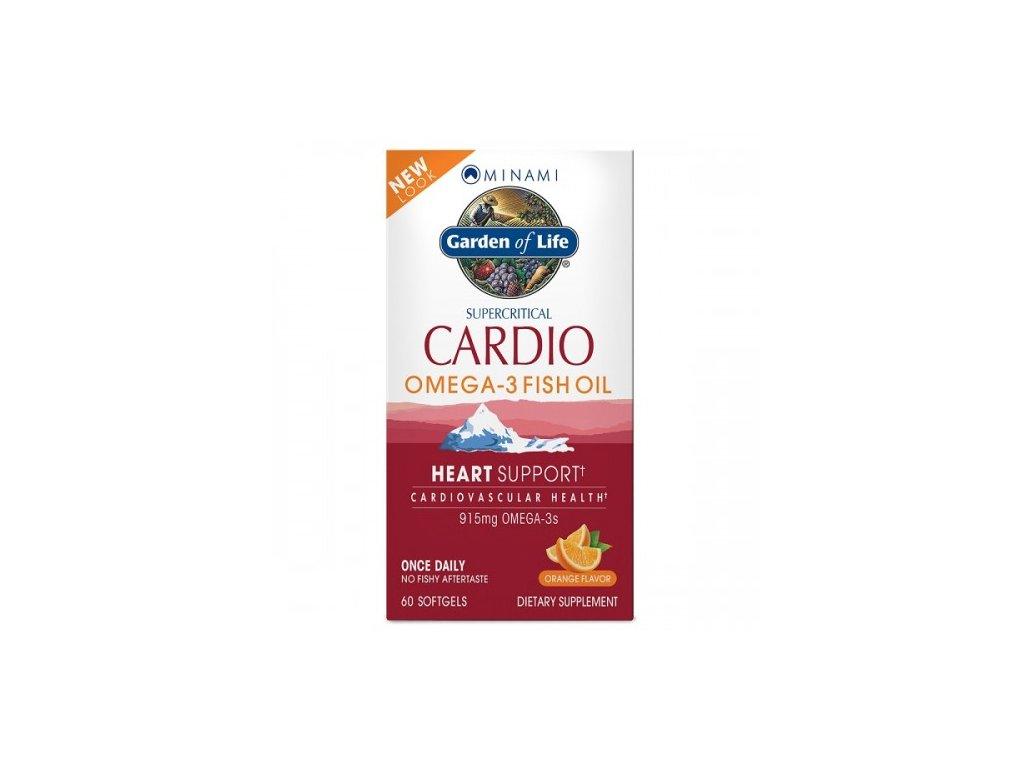 Minami Cardio Omega 3 rybi olej pomeranc 500x600