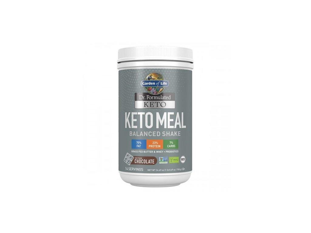Keto meal balanced shake chocolate 700g 500x600