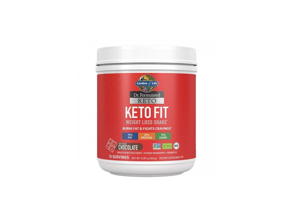 Keto Fit Weight Loss Shake Cokolada 365g 500x600